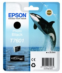 Atrament Epson T7601 Photo Black
