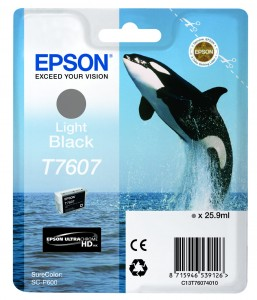 Atrament Epson T7607 Light Black