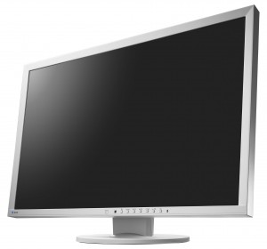 "EIZO Monitor biurowy LCD 24,1"" EV2430-GY, Wide (16:10), IPS, LED, beżowy"