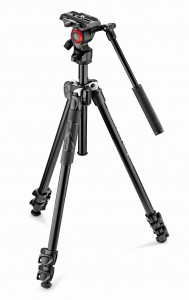 Statyw video Manfrotto 290 Light z głowicą MVH400AH czarny