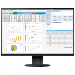 "EIZO EV2457-BK - monitor LCD 24,1"", Wide (16:10), IPS, LED, FlexStand 4 czarny"