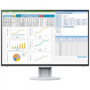 "EIZO EV2457-WT - monitor LCD 24,1"", Wide (16:10), IPS, LED, FlexStand 4 biały"
